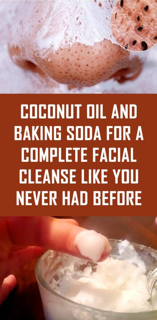 Coconut Oil and Baking Soda for a Complete Facial Cleanse Like You Never Had Bef…