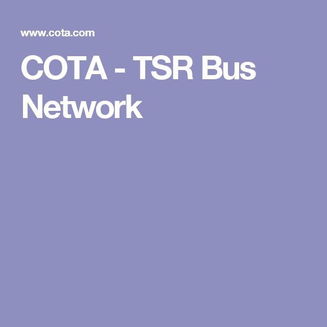 COTA - TSR Bus Network