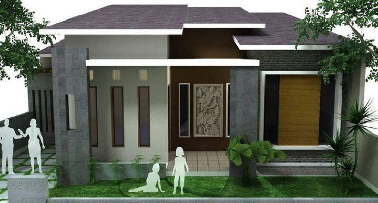 Contoh Gambar Desain Rumah Minimalis Modern