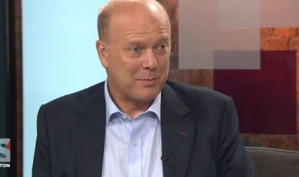 WATCH Chris Grayling FAILS to give one EU law he would abandon in Great Repeal Bill - Express.co.uk