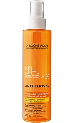 La Roche Posay Anthelios XL Spf 50+ Invisible Nutritive Oil 200 ml - Güneş Koruyucu Yağ - Parfumerie et parapharmacie - La Roche-posay