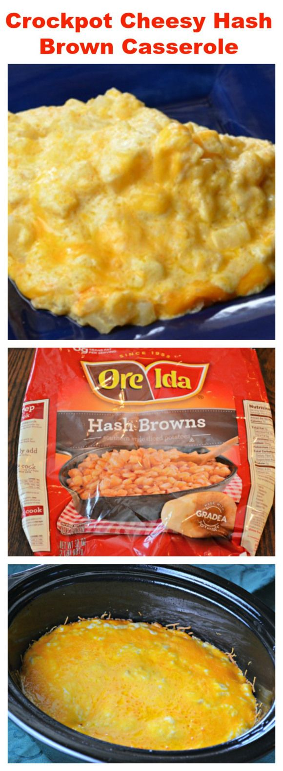 Seems they stay moister in a crockpot. Dry Hashbrowns are yuck.