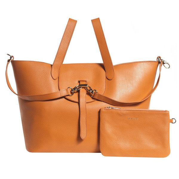 Thela mandarin cervo | meli melo - Luxury Italian Leather Handbags http://www.melimelo.co.uk/products/thela-bag-manderin