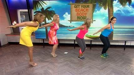 4 workout moves to tone waist, arms, abs, booty with Denise Austin - TODAY.com