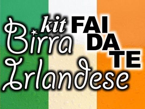 Come fare una birra irlandese Stout (playlist)
