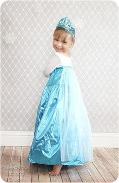 Free Elsa dress-up pattern More