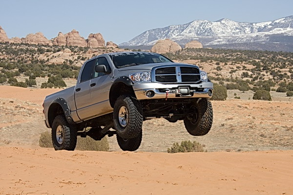 2007 Dodge Ram Power Wagon 2500 Quad Cab, 6.7-liter Cummins 350 hp, 650 lb.-ft. of torque, Mopar Performance axles, 40-inch MTR tires. Kore Performance suspension