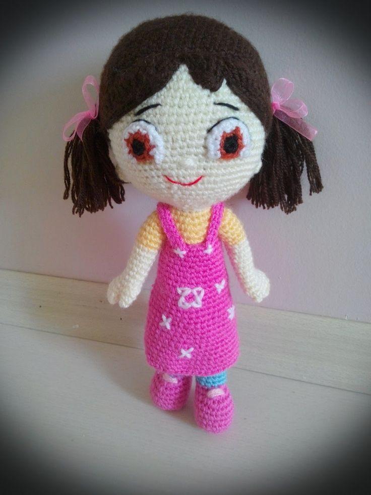 EL YAPIMI AMİGURUMİ ÖRGÜ OYUNCAK BEBEK NASIL YAPILIR? - How to crochet a...
