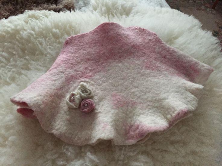Finnsheep felted skirt