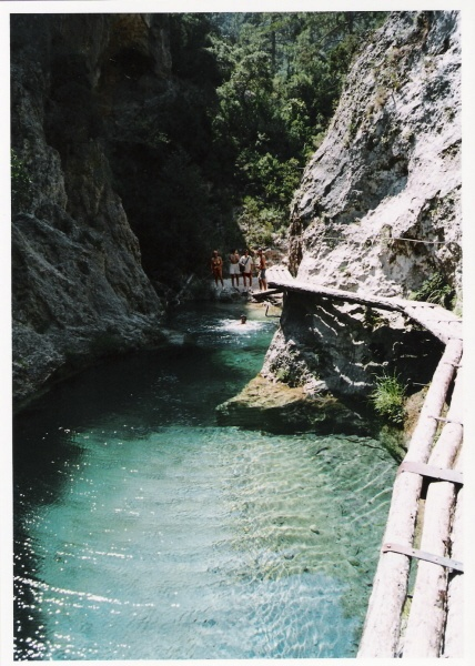 "Barranco del ""Parrizal"" Beceite (Teruel)  Spain"