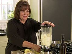 Ina shows how easy it is to make homemade hollandaise sauce with a blender.