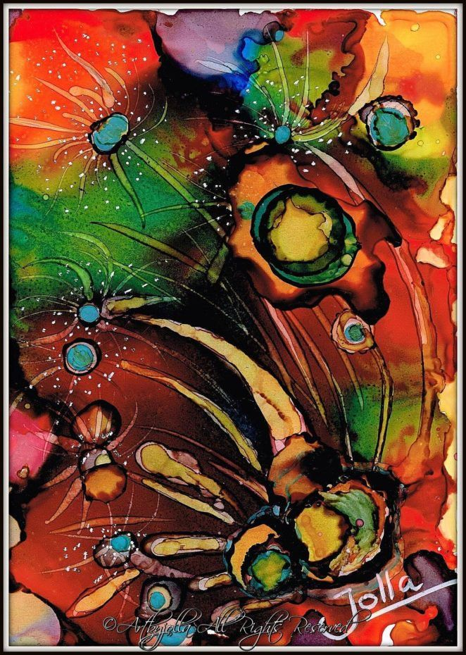 The colours of my mind..by ©Artbyjolla