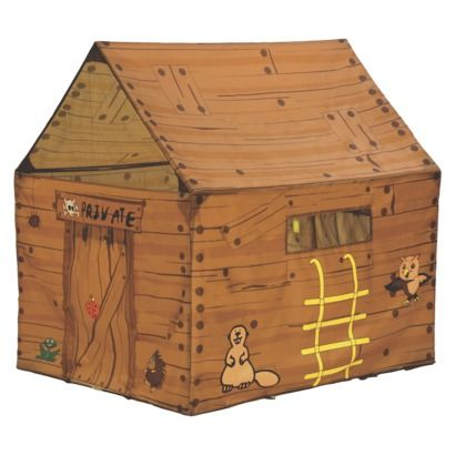 PACIFIC PLAY TENTS Club House Tent. For that rainy day when you can't go out to the tree house you can set up a tree house in your house!