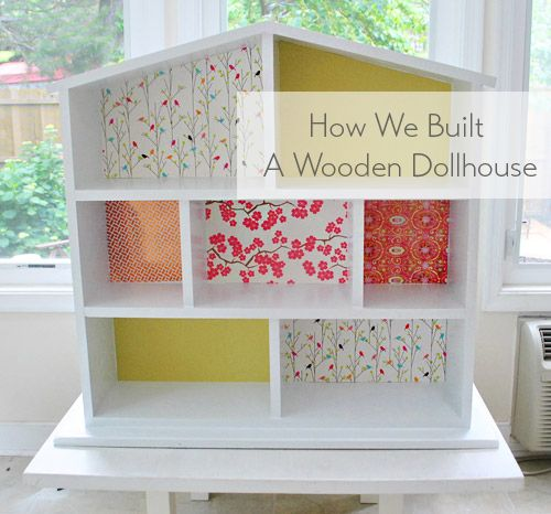 How To Build & Decorate A Dollhouse (makes a great birthday or Christmas gift!).