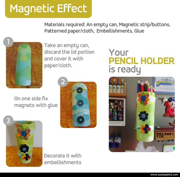 A great idea for little kids who love to draw and are always losing pencils. With this simple #DIY #pencil #holder, your kids will never go looking for a pencil again. Want to give it a try? Tell us how you liked it.