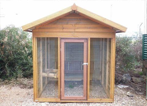 Aarons Outdoor Living - Bird Aviary, $1,050 (http://www.aaronsoutdoor.com.au/pet-houses/bird-aviary/)