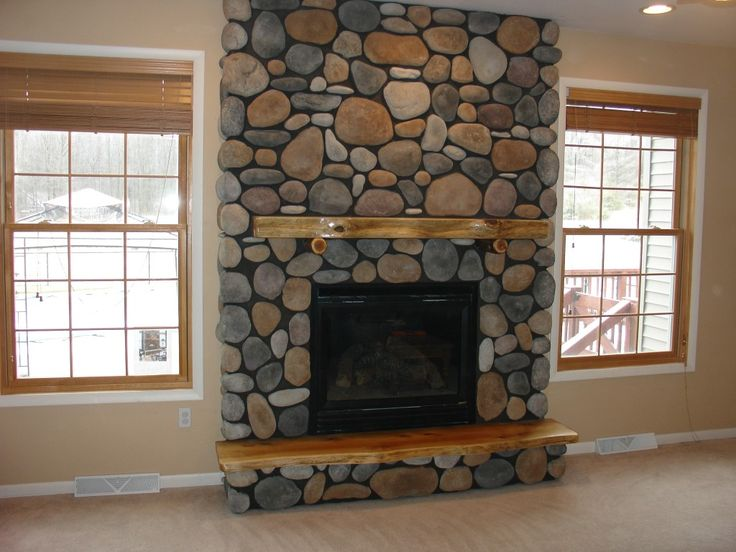Decorating, Delectable Ledgestone Fireplace Surround With Wood Shelf For  Exotic Living Room And Lovable Stone Wall Fireplace Excellent Stone. Part 51