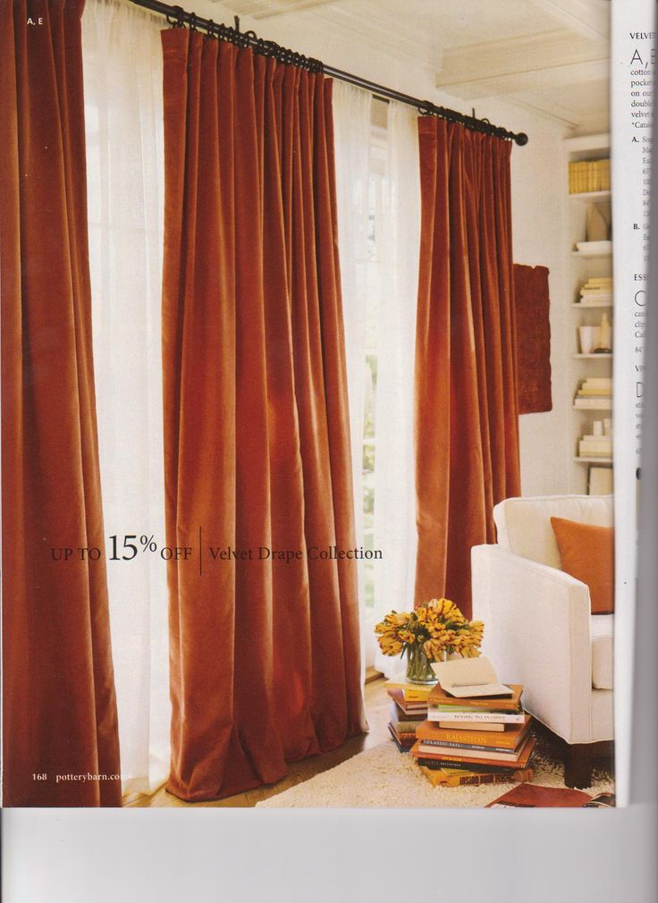Pottery Barn offers this great Velvet Drape in a color they call Maple  Leaf  Various. Best 25  Velvet curtains ideas on Pinterest   Blue velvet curtains