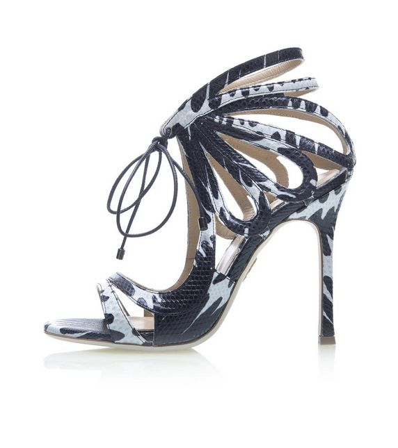 Aaahh! 'Ada' snakeskin heels by Chelsea Paris are so beautiful to look at! http://www.chelseaparis.com/ada.html