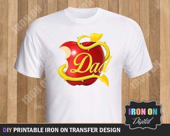 Disney Inspired Descendants Logo Printable Iron por IronOnDigital