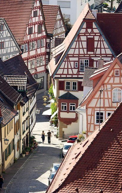 The town of Bad Wimpfen, Baden-Württemberg, Germany | by pwagenblast