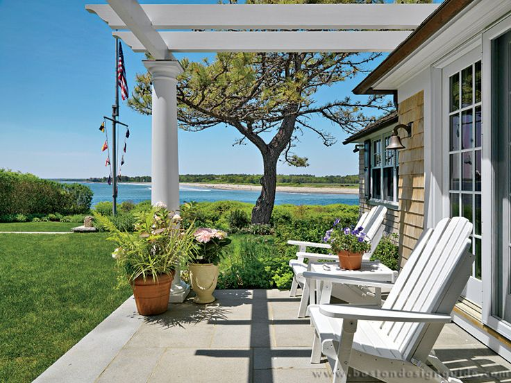 A Maine Escape Built By Woodmeister Master Builders Interior Design Anthony Catalfano Interiors