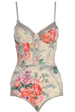 Zimmerman - retro swim suits are pretty :) I'm excited to embrace the full piece this summer.  Why not:P