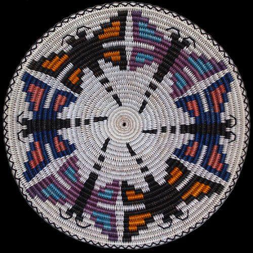Navajo Dragonfly Basket - Elsie Holiday    Twin Rocks Trading Post