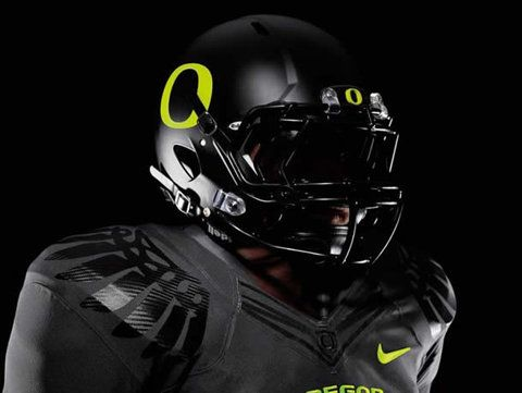 Photos of 2011 Oregon Football Uniforms - New Nike Pro Combat against LSU Tigers | Saturday Down South