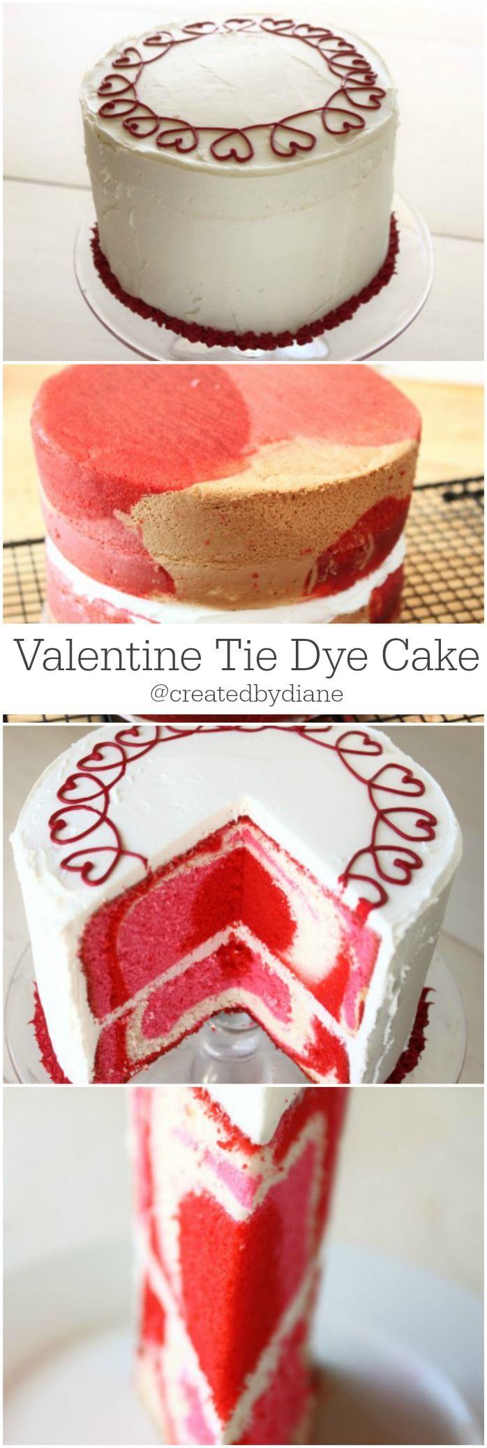 Valentine Cake @createdbydiane
