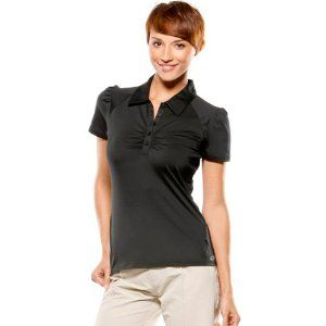 Oakley Lane Polo Women's Short-Sleeve Sportswear Shirt - Jet Black / X-Small by Oakley. $55.00. Punch up your polo look with some posh ideas of style. This is the LANE POLO, a golf design lavished with enough performance oomph to own the fairway. She's got the moisture managing moxie of O Hydrolix technology, along with antibacterial action and UV shielding. Gathers at the placket and shoulders give her a bachelorette's degree in charm school, so you'll look good while you ...