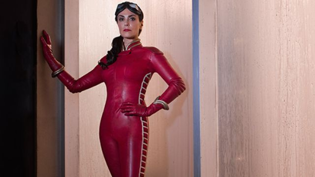 Here's Michelle Forbes as Retro Girl in PSN's Powers TV show · Newswire · The A.V. Club