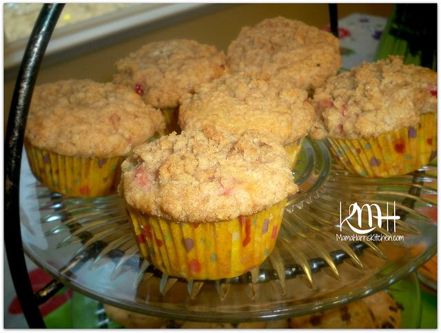 Gevalia Coffee Party & Strawberry Streusel Muffins - Mama Harris Kitchen