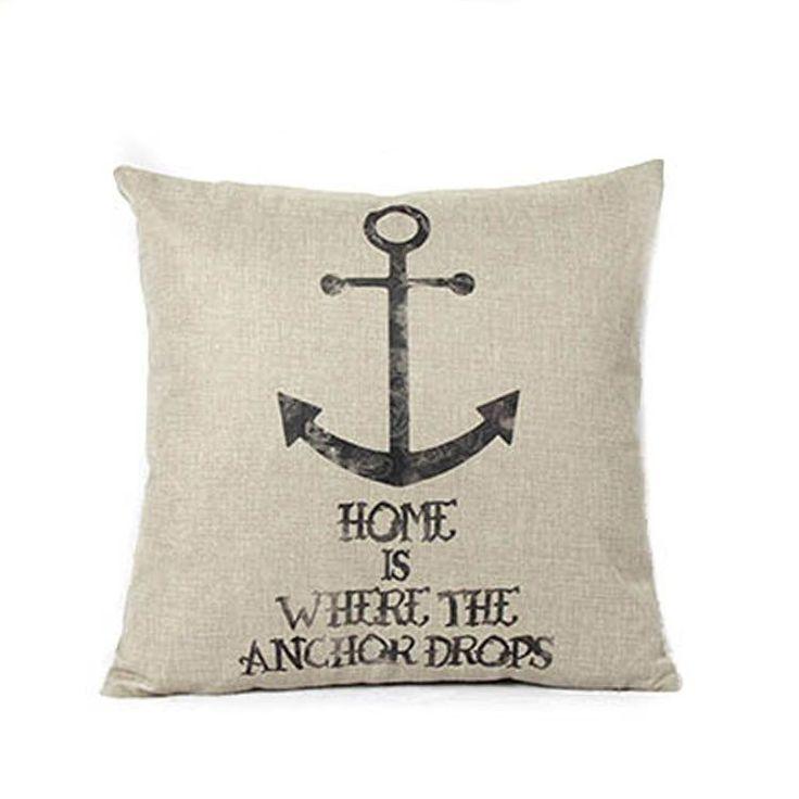 Anchor Pillow Case