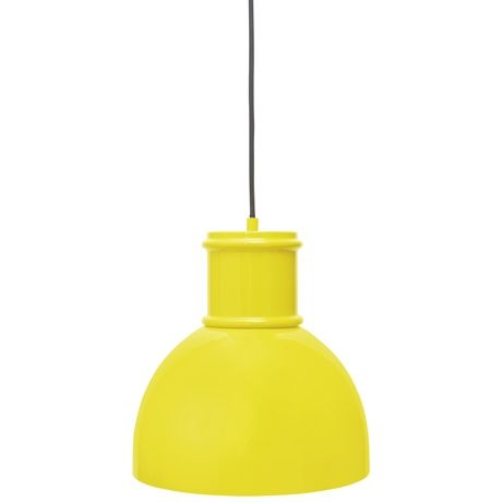 Industry Ceiling Pendant in Sunshine Yellow was $149, NOW $74.50 #freedomautumnsale