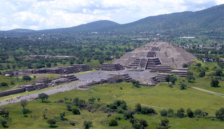 About twenty five miles north of Mexico City sits a mystical and ancient landmark renowned by archeologists, tourists, and locals alike. The ruins of Teotihuacán were once the largest city in the new world with populations varying between 100,000 and 200,000 at the peak of its splendor in the first century AD. Covering approximately 51 square miles, it has been named a UNESCO World Heritage Site and is the most visited archeological site in Mexico. The reason for all these visitors...