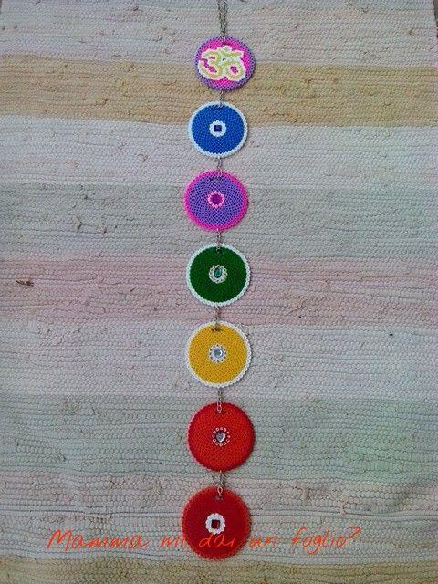 Mandala e Sette Chakra, con le perline da stirare!
