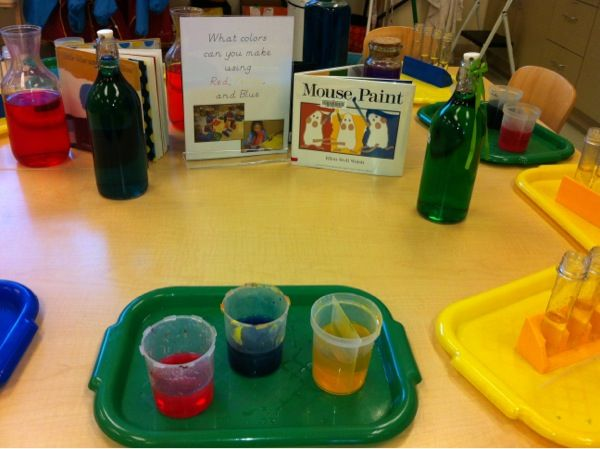 Kindergarten Classroom at the Early Learning Community - Blog - Art Provocations
