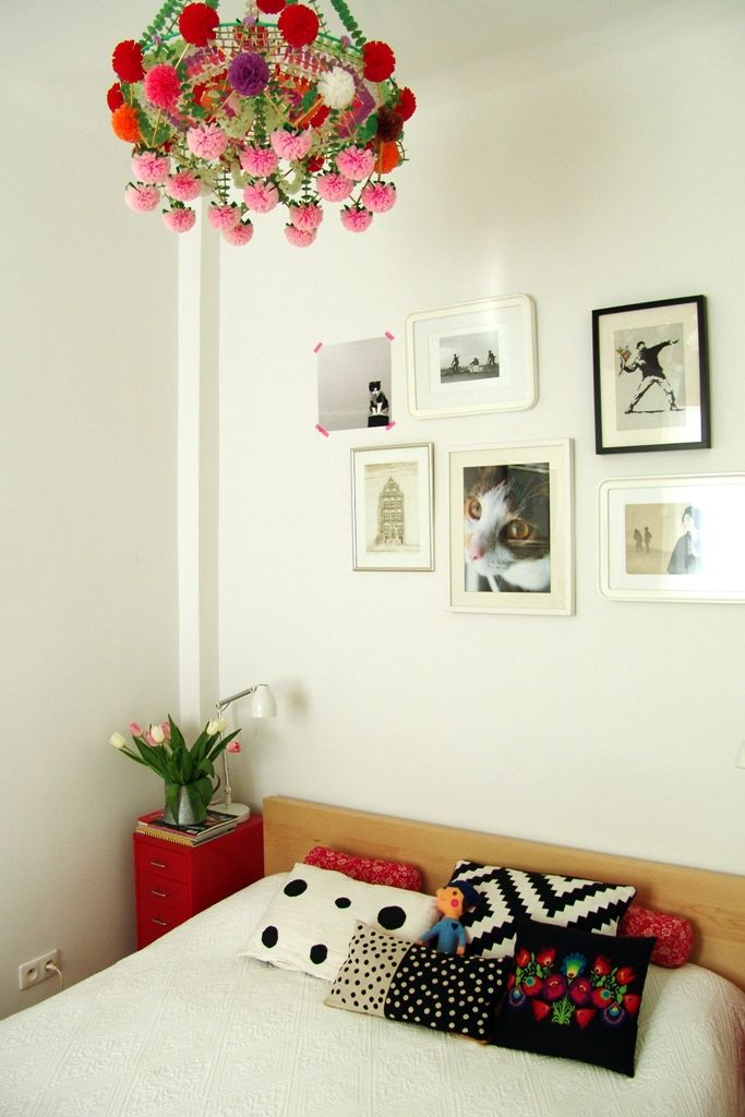 """polish """"pajak"""" above the bed"""