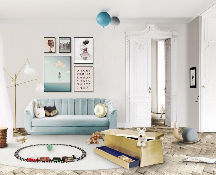 Get inspired to create a trendy bedroom for little kids with these  decorations and furnishings.