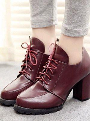 Женские ботинки 2017, фото модных зимних и весенних ботинок из натуральной кожи