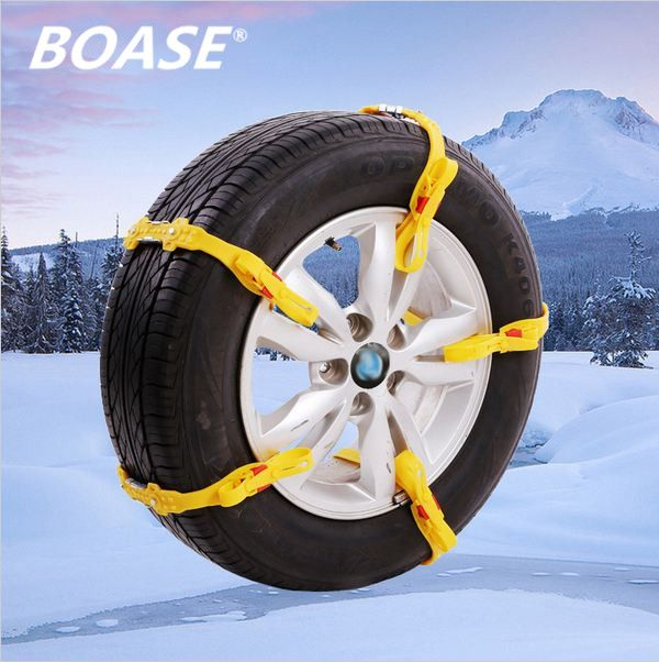 5pcs/Lot Universal Adjustable Auto Car SUV Snowblower Tire Snow Chains Anti-skid Chains for Mug Ice Road