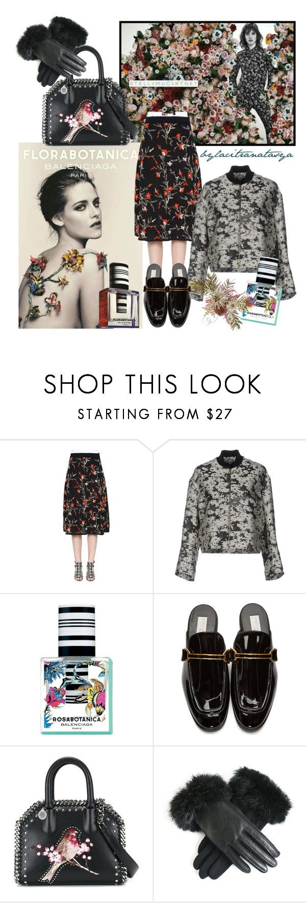WINTER FLORAL // Balenciaga X Stella McCartney by bylacitranatasya on Polyvore featuring STELLA McCARTNEY and Balenciaga