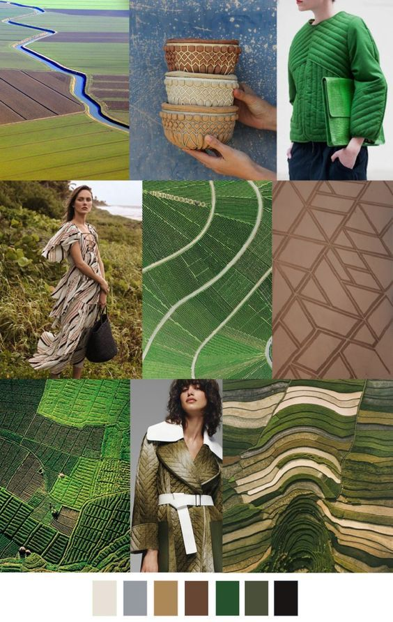 S/S 2018 colors & patterns trends