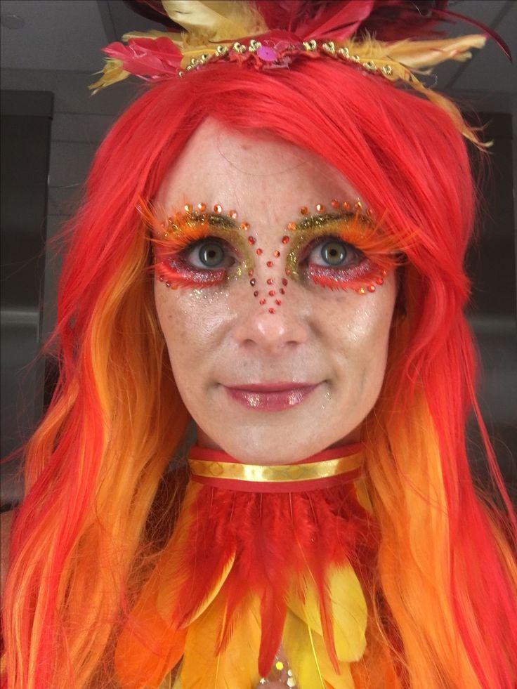 Phoenix makeup, Fawkes
