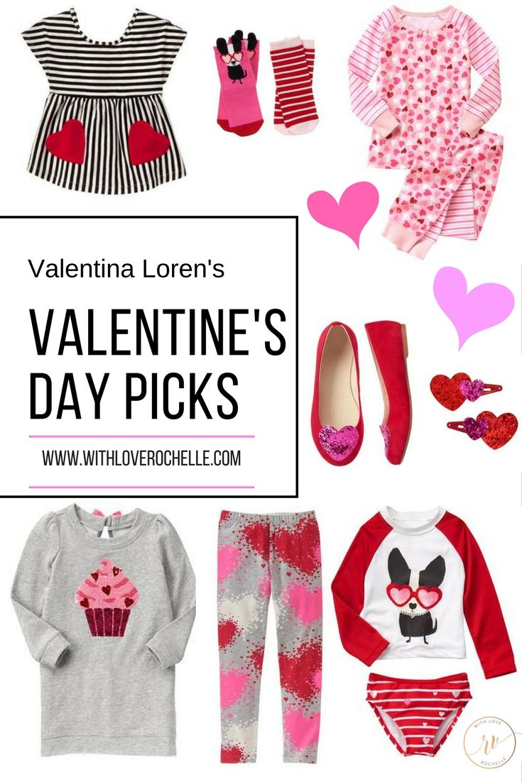 Little girls valentine's day outfit ideas, gift ideas, dance outfits, hair accessories and more