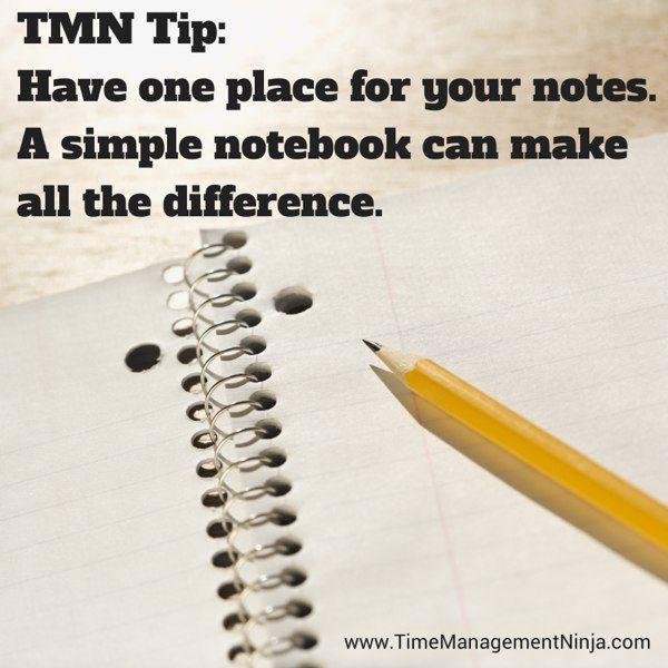 One Notebook TMN Tip