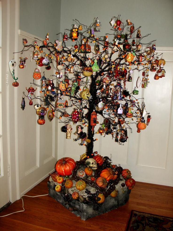 halloween tree christmas ornamentschristmas - Halloween Tree Ornaments