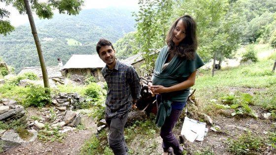 Erica e Federico in Val Germanasca per cambiare vita