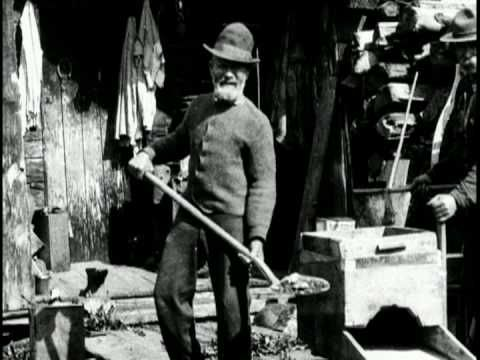 the Fraser River Gold Rush, which began in 1858 after gold was discovered on British Columbia's Thompson and Fraser rivers.